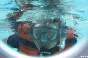 Pertama Kali Snorkeling