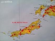 Peta Timor & Rote