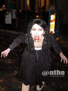 One pretty vampire :D