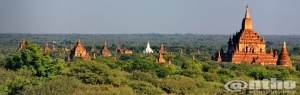 Bagan in panorama - 2