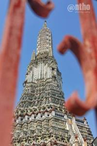 Wat Arun in frame