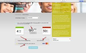 Informasi validitas e-visa