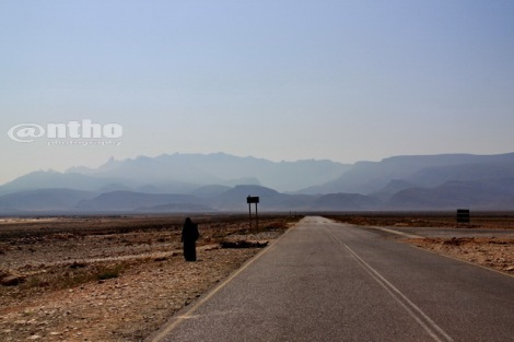 Road in Socotra
