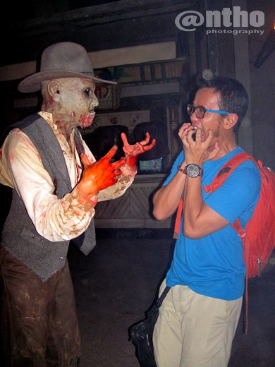 The Zombie Wanted To Eat Me :D