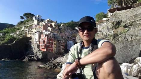 Mejeng di Riomaggiore